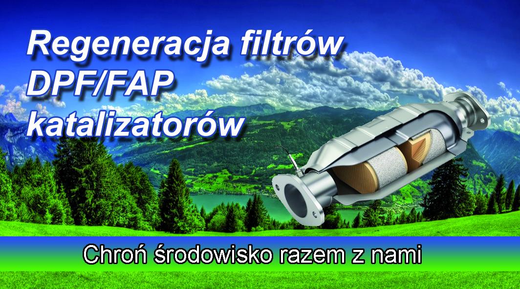 regenracja filtrów DPF FAP