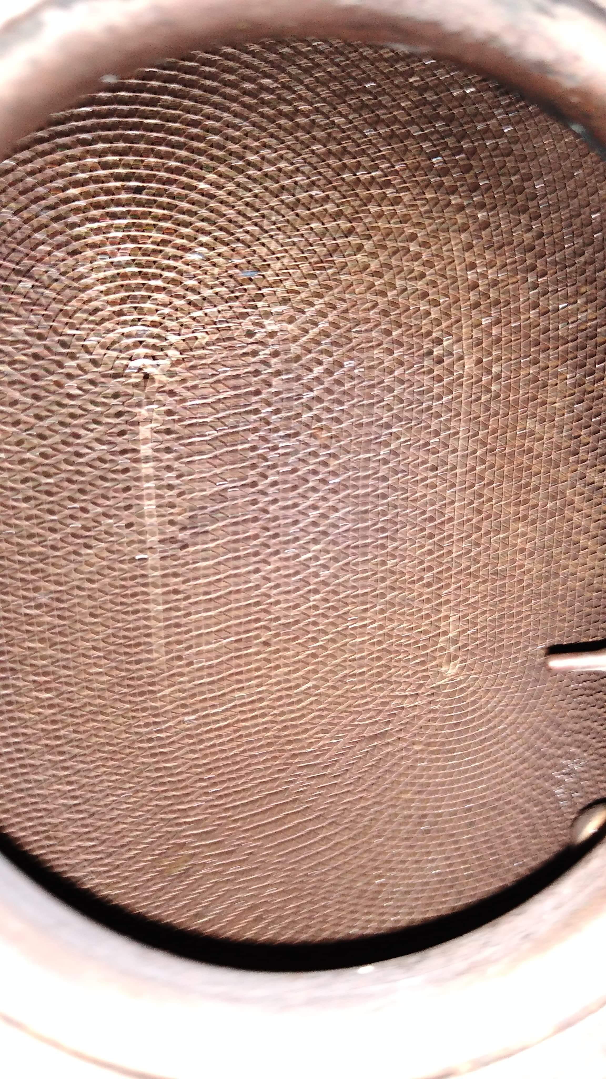 filtr po czyszczeniu